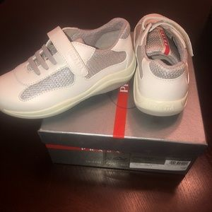 Toddler Prada Gym Shoes
